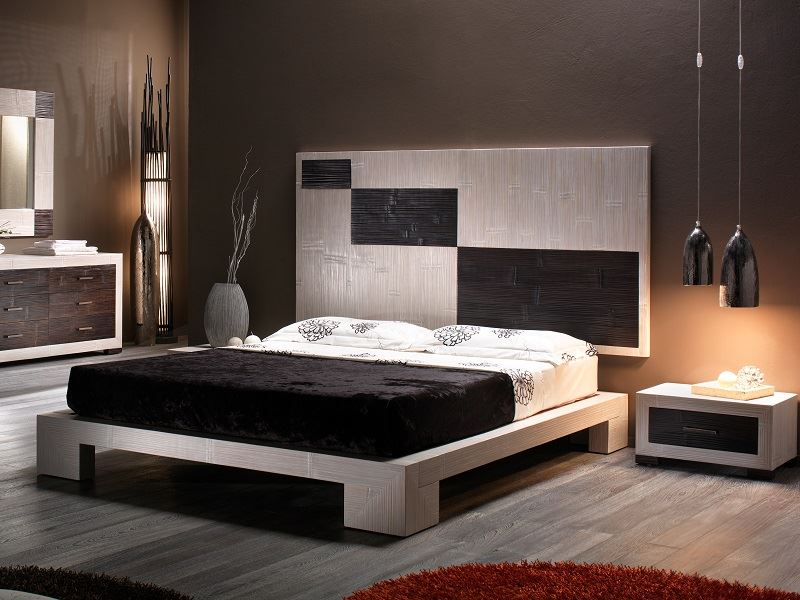lit cube en bambou haut de gamme meuble pour la chambre. Black Bedroom Furniture Sets. Home Design Ideas