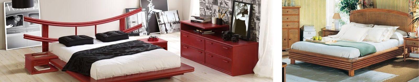 Lits en rotin : meubles haut de gamme de fabrication espagnole.