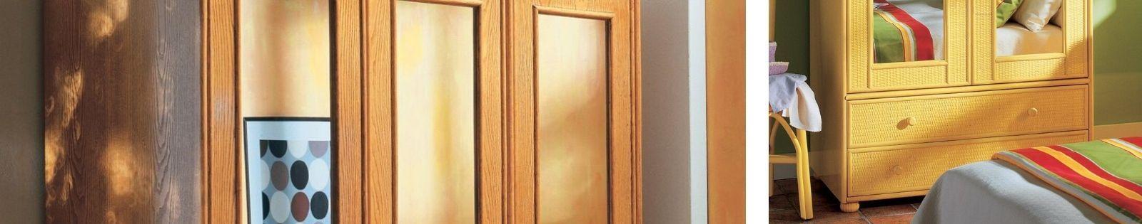 Armoires en rotin : meubles haut de gamme de fabrication espagnole.
