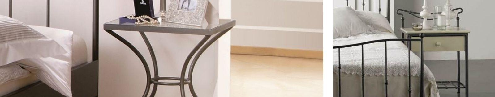Chevets en fer forgé : meubles haut de gamme de fabrication espagnole.