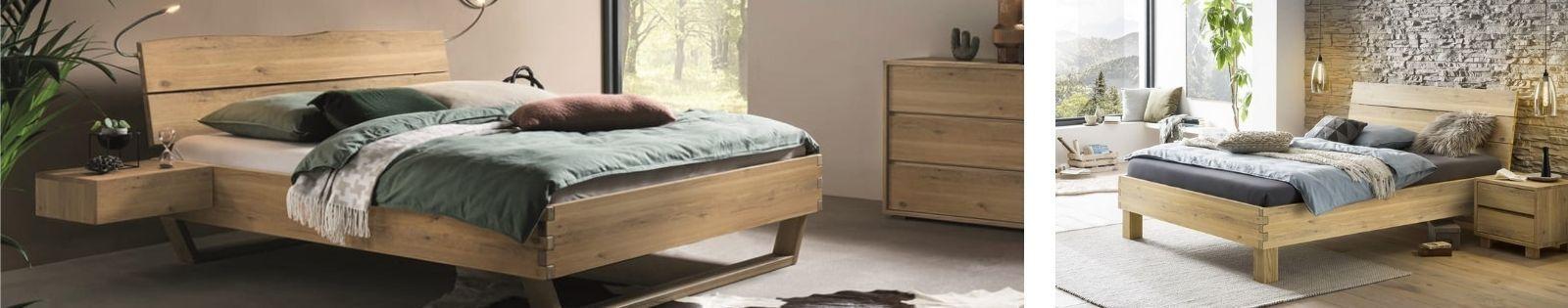 Gamme NATURO Hasena, meubles en chêne et hêtre massif noueux.