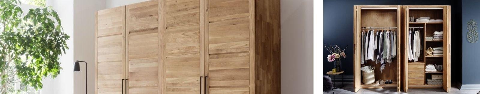 Armoire Haut de gamme en bambou, rotin, chêne, merisier, noyer massif - Le Monde du Lit