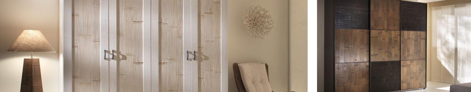 Armoires en Bambou Haut de gamme. Meuble pour la chambre en bambou. Le Monde du Lit