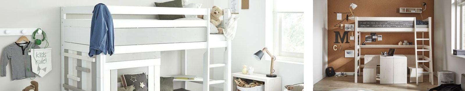 Lits mezzanine : meubles haut de gamme de qualité. Le Monde du Lit