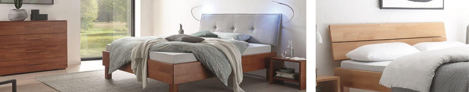 HASENA : GAMME WOOD LINE. Meubles en bois massif pour la chambre.